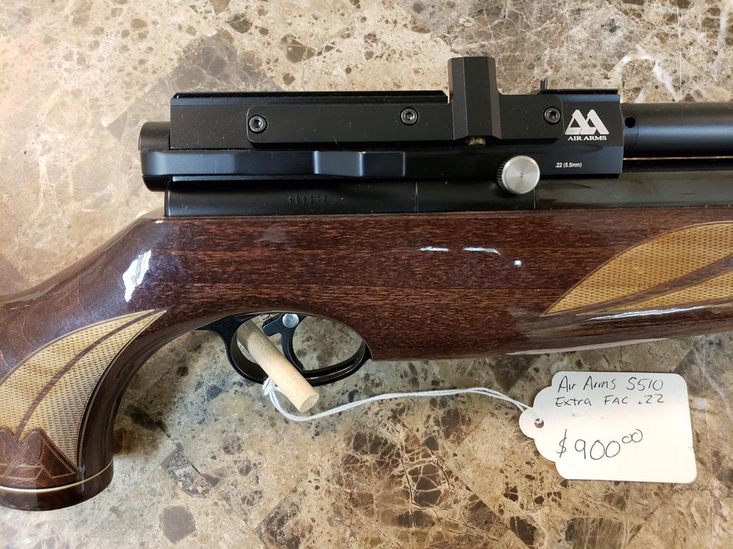 Pre-owned Air Guns @ New England Airgun