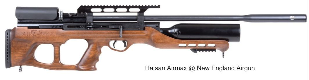 PCP air rifle - HPA - Compressed air