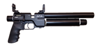 aea precision airgun sparrow .22 hp air pistol pcp 12 fpe 600 fps